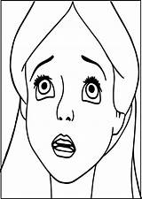 Sad Coloring Face Pages Printable Getcolorings Pa Excellent sketch template