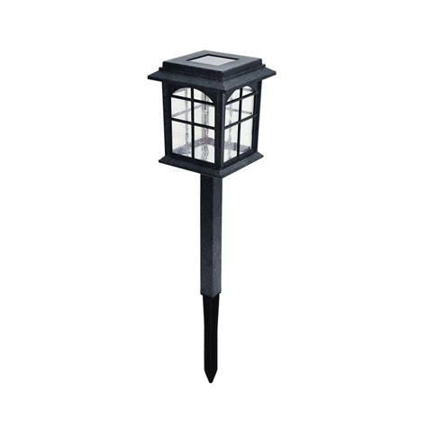 holiday living 10 ct path lights hton bay solar pathway light 4 pack nxt 4400 the