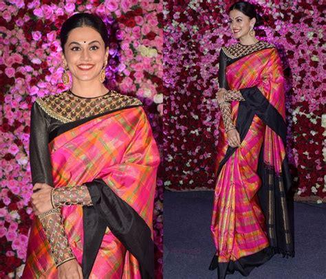 neck blouse designsideas  improve saree style