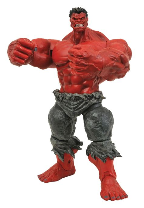 marvel select red hulk project mayhem collectibles