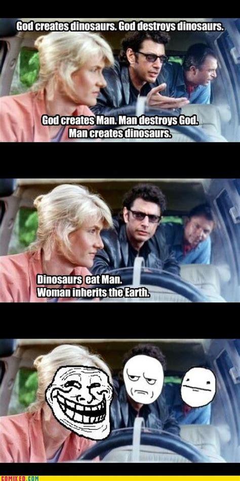 Jurassic Park Meme - the 25 best jurassic park funny ideas on pinterest new jurassic park new jurassic world and