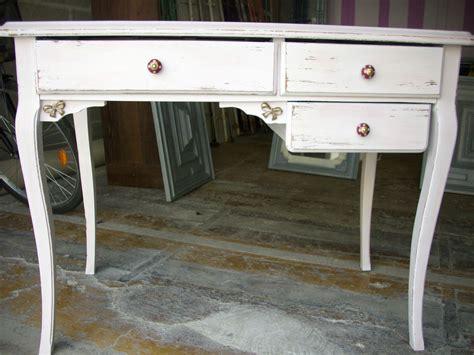 petit bureau blanc petit bureau blanc ceruse relooking de meubles
