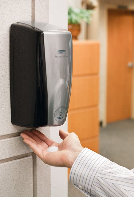 distributeur automatique de savon mural distributeur mural de savon en mousse automatique autofoam fg750127 rb750127000 montr 233 al