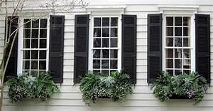 Outside, Window, Shutters