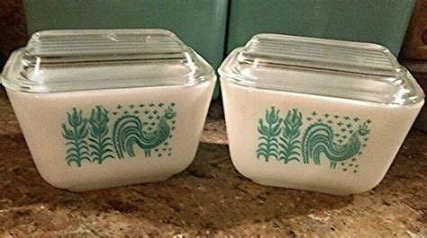 Navy ceramic coffee mug, one size, ocean. Pyrex. Amish Butterprint Refrigerator dishes, 501, With Lids, Minty set! #Pyrex   Pyrex ...