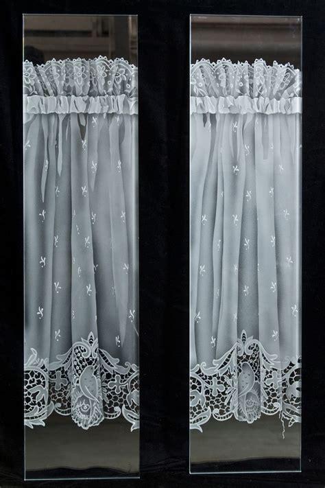 custom lace door panels  heather glass panel doors