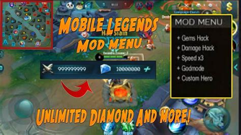 Mobile Legends Hack! Mod Menu!