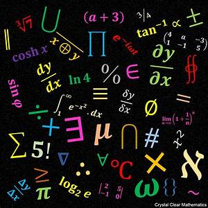 Mathematical Symbols | Crystal Clear Mathematics