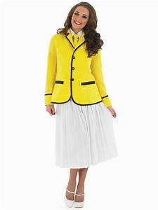 adult hi de hi female camp host costume fs3549 fancy With deguisement robe paillette