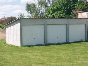 prix garage prefabrique en beton maison francois fabie With garage en plaque beton a monter
