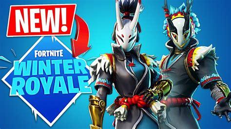 fortnite winter royale game mode