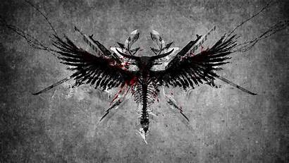 Angel Desktop Wallpapers Wings Warrior Angels Symbol