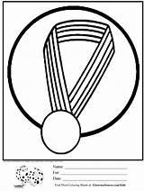 Medal Olympic Coloring Olympics Ring Ginormasource Activities Sr Paul Map Ninos Actividades sketch template