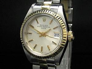 Rolex Oyster Perpetual Date Damenuhr Mit Oyster Armband EBay