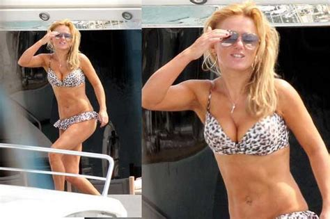 spice girls sexy spice girl halliwell looks geri sexy on south of france