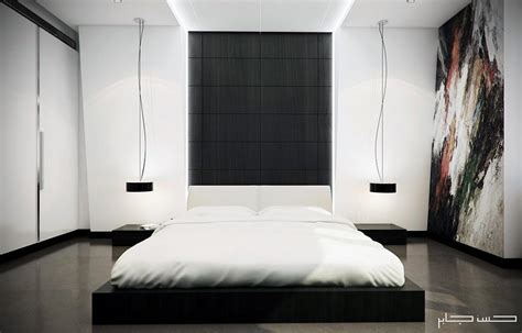 White Modern Bedroom By Hassan Jaber-d Artist