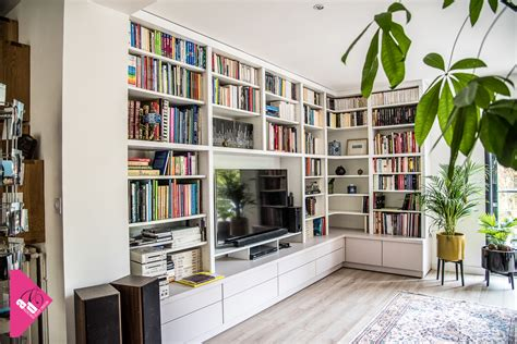 biblioth鑷ue bureau amenagement bibliotheque sur mesure photos de conception de maison elrup com
