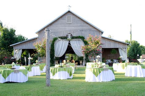 top barn wedding venues alabama rustic weddings