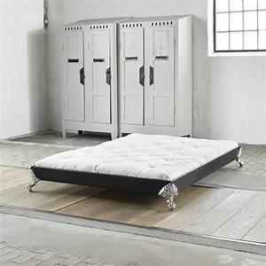 Lit Bois Massif Design : lit upon bois massif et futon ~ Teatrodelosmanantiales.com Idées de Décoration
