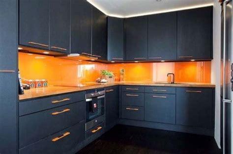black and orange kitchen   orange kitchen with black