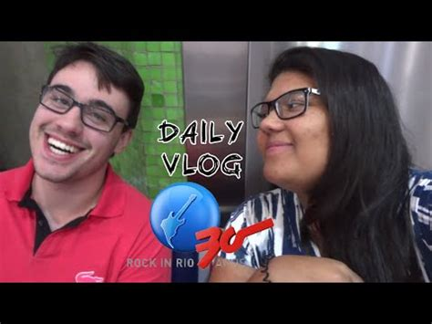 Daily Vlog  Rock In Rio Youtube