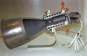 Rocket Engine  Liquid Fuel  Radiamic  Cutaway  Also Designated C