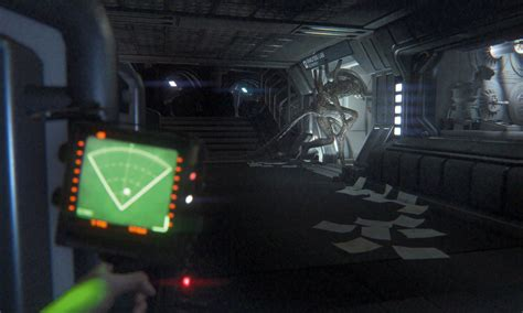 alien isolation game xbox pc gaming vg247 screenshots jump