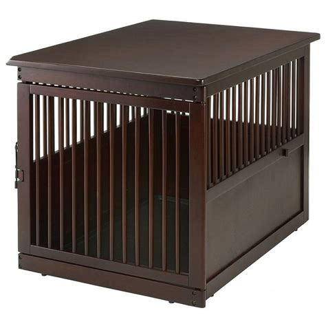 dog crate side table richell end table dog crate large