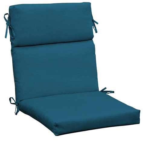 hton bay peacock outdoor dining chair cushion cf07062b