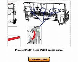Canon Pixma Ip5200  Pixma Ip5200r Service Repair Manual