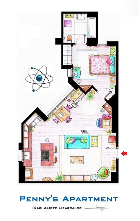 Kitchen Design Ideas 2013 - penny 39 s apartment from tbbt by nikneuk on deviantart