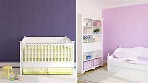 Farben Für Kinderzimmer : babyzimmer m dchen lila ~ Lizthompson.info Haus und Dekorationen