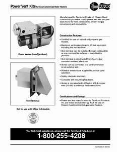 Ruud G85-400 A  Manuals