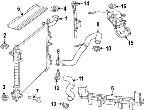 Parts Jeep Radiator Upper Back Partnumber
