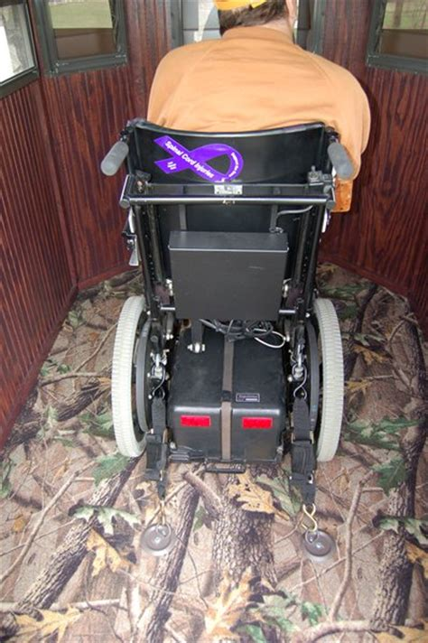 trailer deer blinds wheelchair accessible deer blind