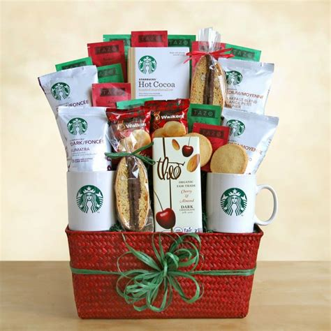 103 best starbucks baskets images on pinterest coffee