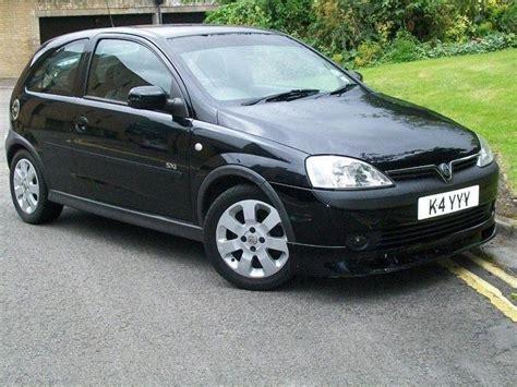 vauxhall black used vauxhall corsa 2001 petrol 1 2i 16v sxi 3dr hatchback