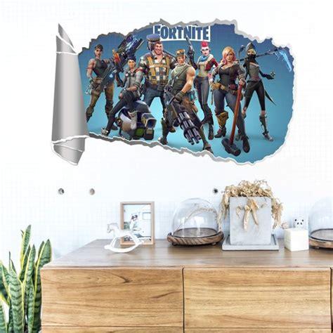 bolcom  fortnite karakters game muursticker poster