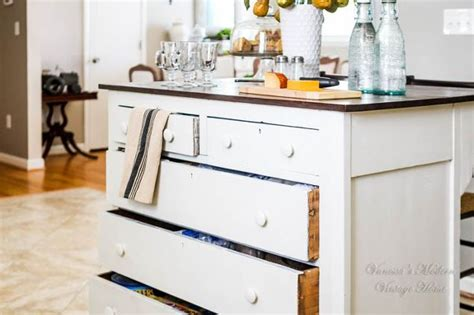 turn dresser into kitchen island need more kitchen storage turn a dresser into an island 9496