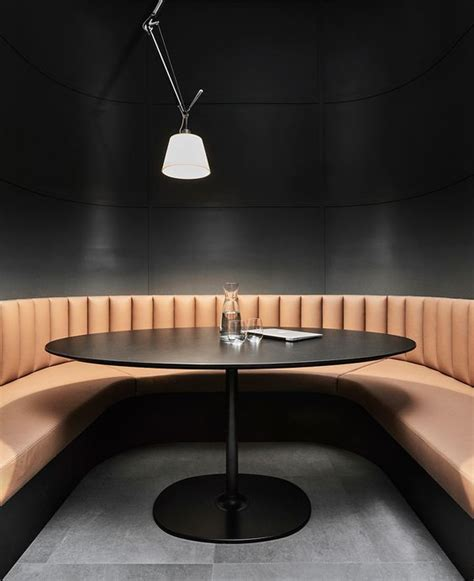 curved banquettes curved banquette seating restaurant seating interior