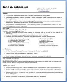 pharmacy tech resume ideas pharmacy technician resume sle no experience cpht werk pharmacy resume and