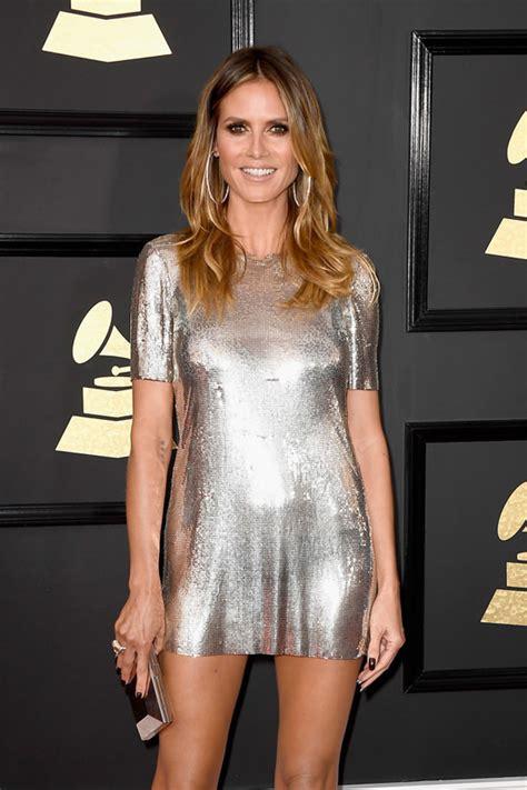 Heidi Klum Invite The Grammys Said Pants Optional