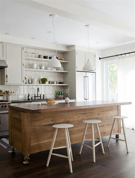 ilot cuisine bois ilot central en bois pour cuisine images