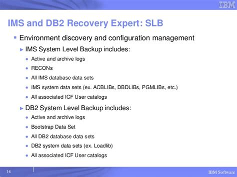 Db2 Resume Reorg by Coordinated Ims And Db2 Recovery Ims Rug March 2013 Columbus