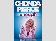 Chonda Pierce returns to theaters for 'Enough' in one