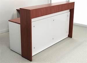 Custom Reception Desk - Hostgarcia