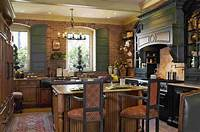 french country kitchen cabinets Comfortable French Country Kitchen Warming Interior Space ...