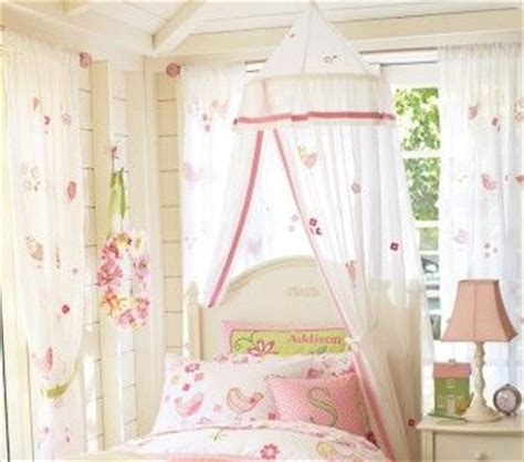 Pottery Barn Canopy by Pottery Barn New Bird And Flower Applique Canopy