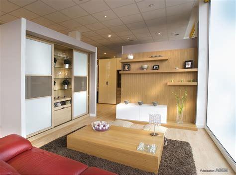 support tv motorisé cuisine salon espace tv placard et dressing sur mesure rangement cloison tv cloison support
