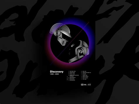 Daft Punk Poster by Monkey Square (Jamy) on Dribbble